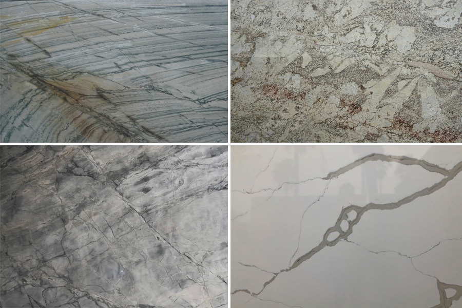 Marble vs Granite vs Quartzite vs Quartz